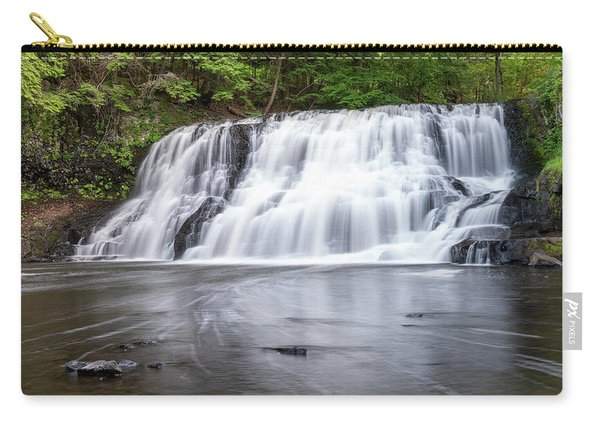 Wadsworth Falls In Middletown, Connecticut U.s.a.  Carry-all Pouch