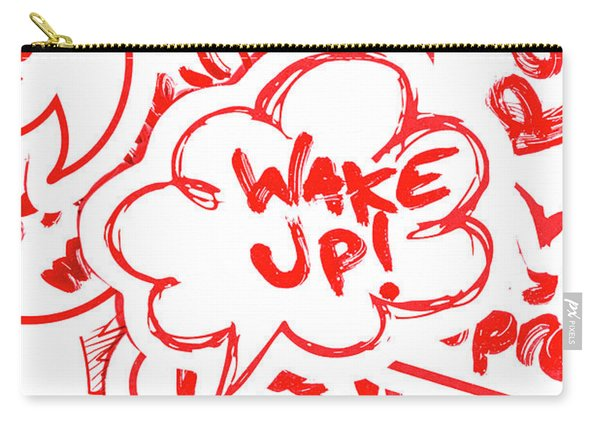 Wake Up Carry-all Pouch