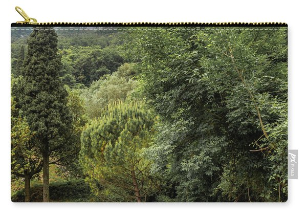 Walking Along The Mountain Path Carry-all Pouch