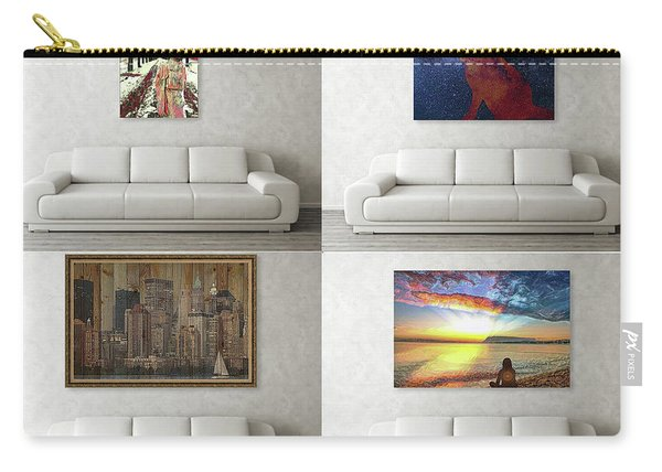 Wall Art Samples Carry-all Pouch