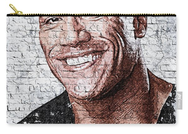 Wallart Dwayne Johnson 2 Carry-all Pouch