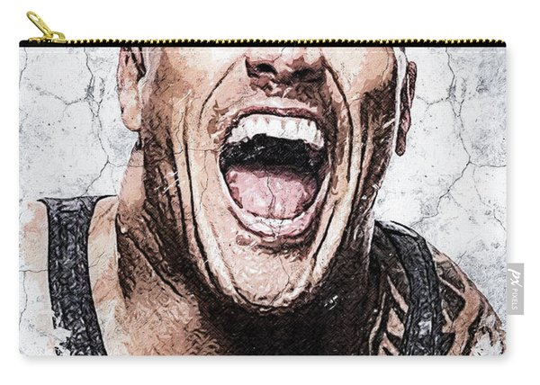 Wallart Dwayne Johnson 5 Carry-all Pouch