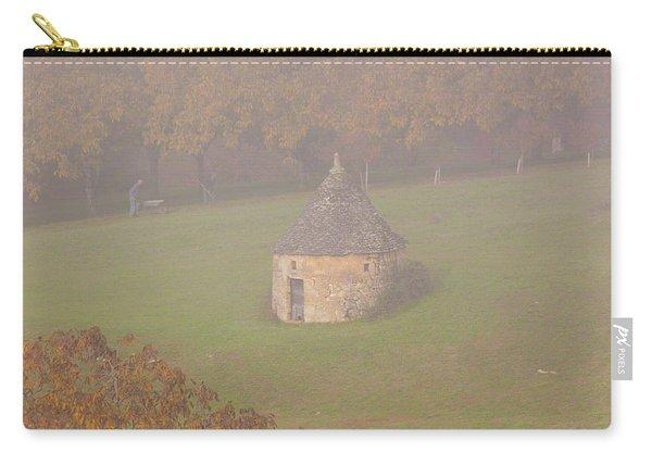 Walnut Farmers, Beynac, France Carry-all Pouch