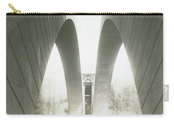 Walnut Lane Bridge Under Construction Carry-all Pouch
