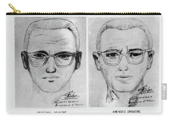 Wanted Zodiac Killer Carry-all Pouch