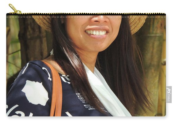 Waree Smiling Again Carry-all Pouch