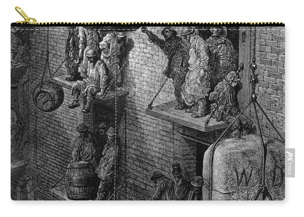 Warehousing In The City, From London, A Pilgrimage Carry-all Pouch
