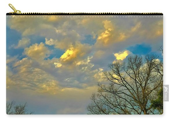 Warm And Cool Sky Carry-all Pouch