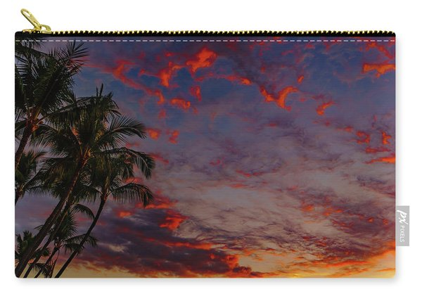 Warm Sky Carry-all Pouch