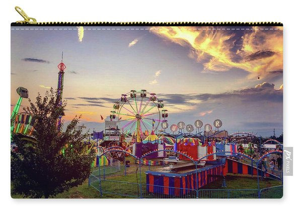 Carry-all Pouch featuring the photograph Warren County Fair by Candice Trimble