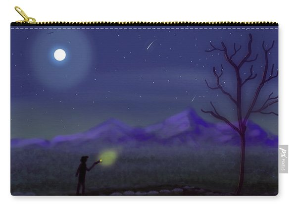 Watching Shooting Stars Carry-all Pouch