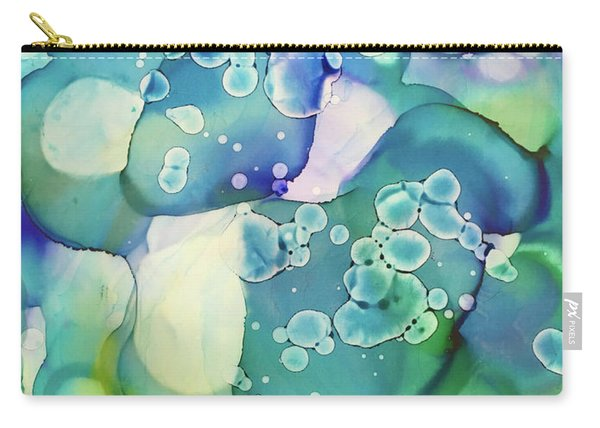 Water Cells Carry-all Pouch