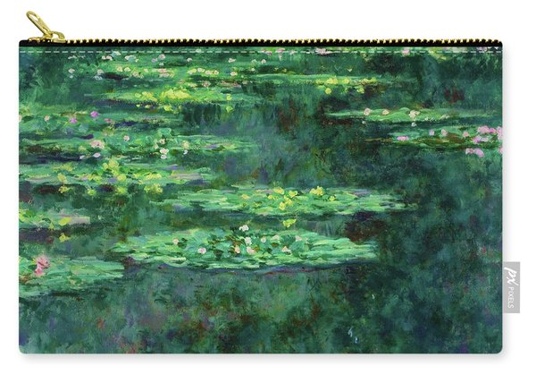 Water Lilies 1904 - Digital Remastered Edition Carry-all Pouch