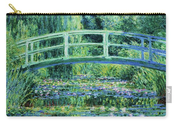 Water Lilies And Japanese Bridge - Digital Remastered Edition Carry-all Pouch