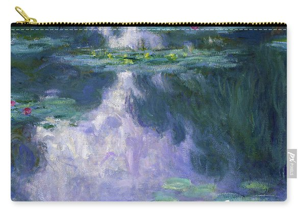 Water Lilies 1907 - Digital Remastered Edition Carry-all Pouch