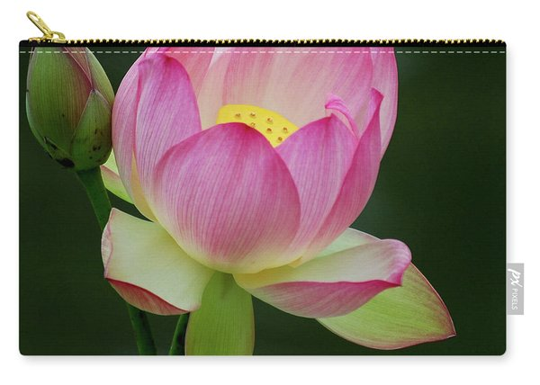 Water Lily In The Pond Carry-all Pouch