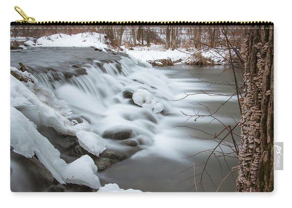 Waterfall At Bonneyville Mill Carry-all Pouch