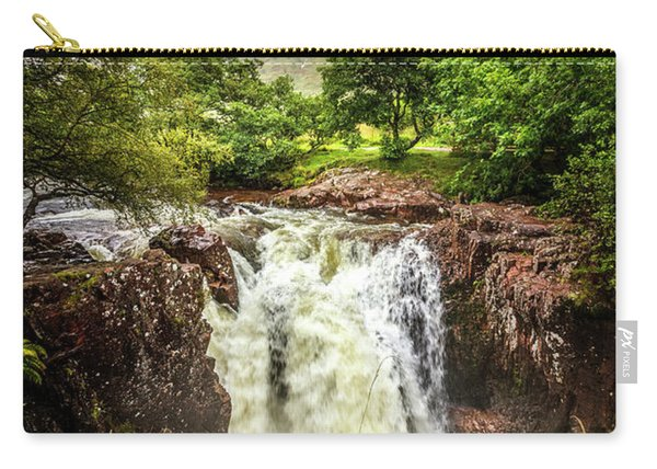 Waterfall Under The Mountain Carry-all Pouch