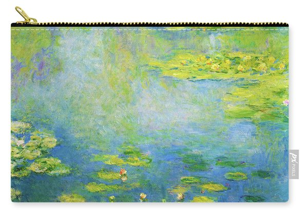Waterlilies, 1906 - Digital Remastered Edition Carry-all Pouch