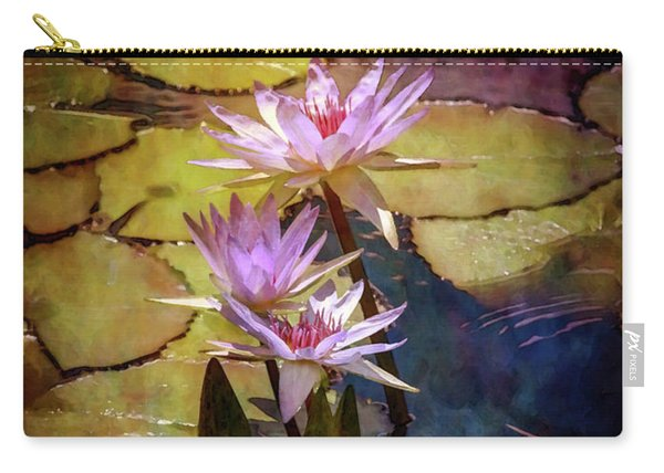 Waterlily Bouquet 2922 Idp_6 Carry-all Pouch