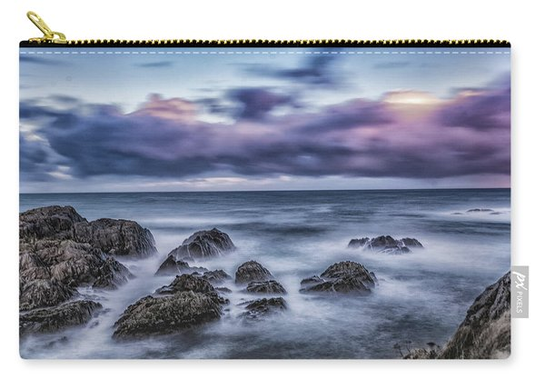 Waves At The Shore Carry-all Pouch
