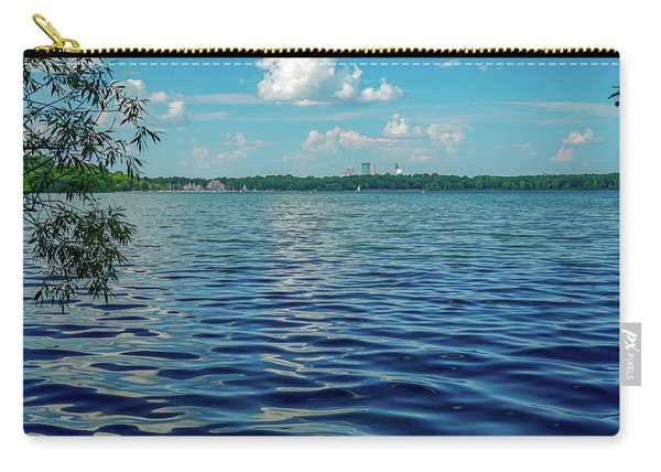Waves On Lake Harriet Carry-all Pouch
