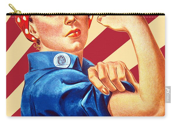 We Can Do It Rosie Resist Carry-all Pouch