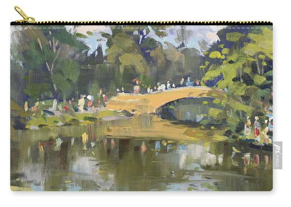 Wedding Party In Hyde Park Carry-all Pouch