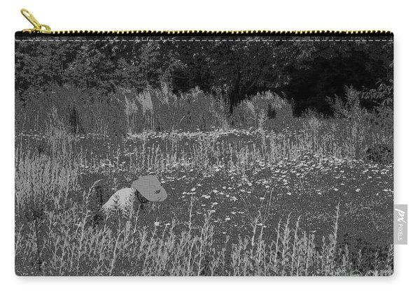 Weeding The Garden Carry-all Pouch
