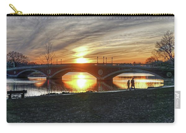 Weeks Bridge At Sunset Carry-all Pouch