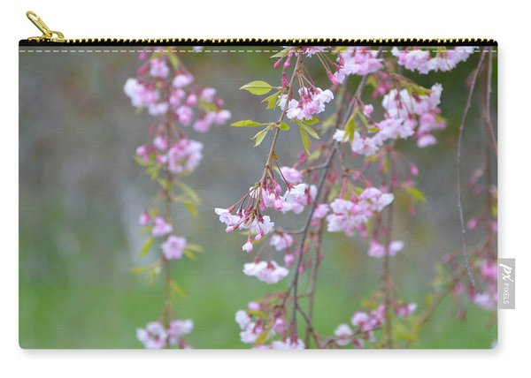 Weeping Cherry Blossoms Carry-all Pouch