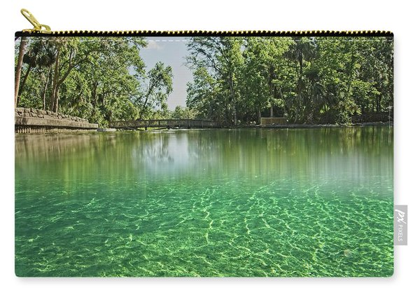 Wekiwa Springs Carry-all Pouch