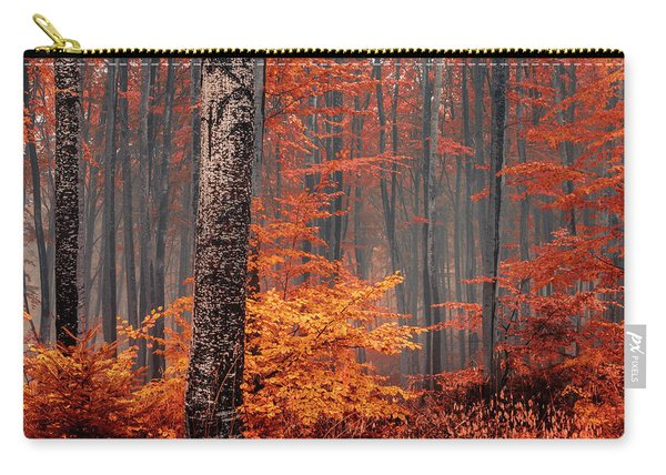 Welcome To Orange Forest Carry-all Pouch