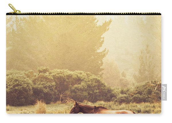 Western Ranch Horse Carry-all Pouch