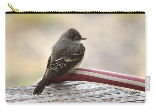 Western Wood Pewee Carry-all Pouch