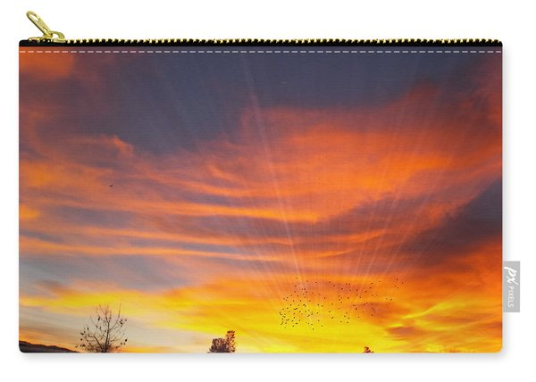What I Saw - California Sunset Carry-all Pouch