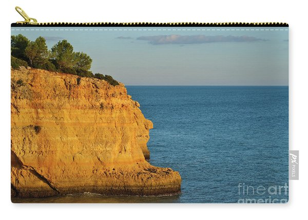Where Land Ends In Carvoeiro Carry-all Pouch