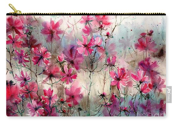 Where Pink Flowers Grew Carry-all Pouch