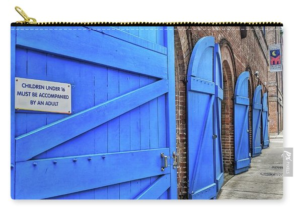 Which Blue Door Carry-all Pouch