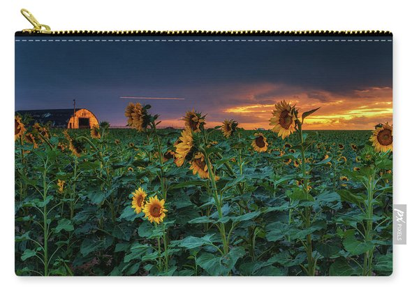 Carry-all Pouch featuring the photograph Whispers Of Summer by John De Bord