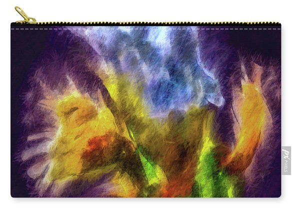 White Lily Bud #i0 Carry-all Pouch