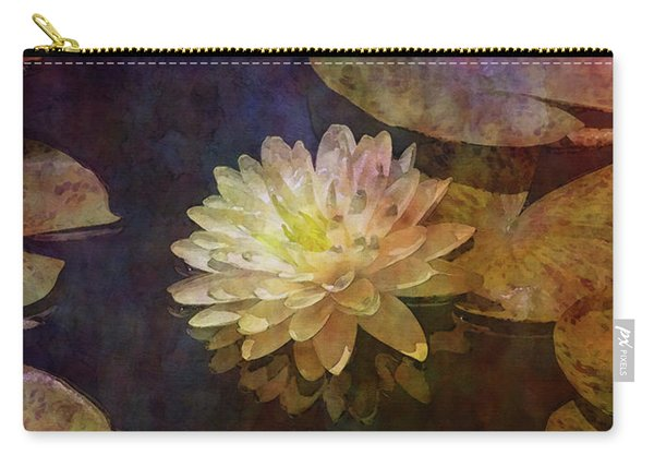 White Lotus Lily Pond 2938 Idp_2 Carry-all Pouch