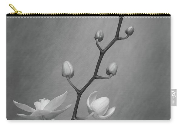 White Orchid Buds Carry-all Pouch