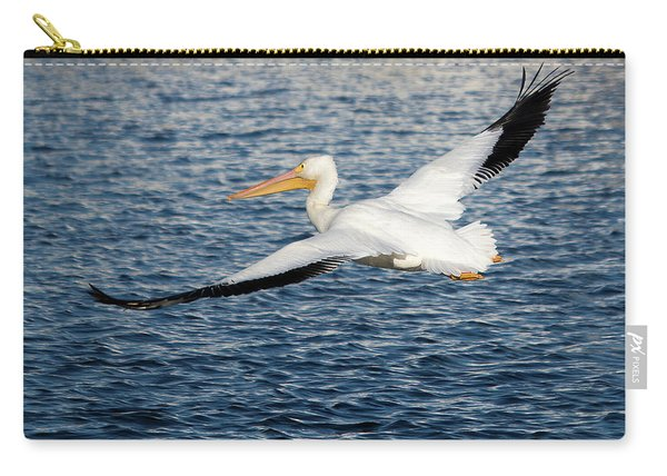White Pelican Wingspan Carry-all Pouch