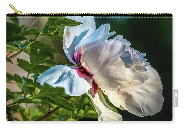 White Petals #i4 Carry-all Pouch