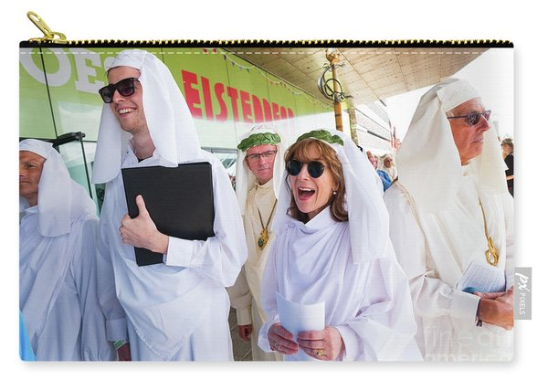 White Robed Bards At The Welsh National Eisteddfod Carry-all Pouch