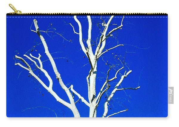 White Tree Carry-all Pouch