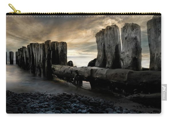 Whitefish Point Michigan Breakers Carry-all Pouch