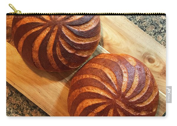 Whole Wheat Sourdough Swirls Carry-all Pouch