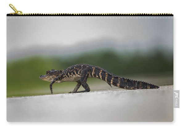 Why Did The Gator Cross The Road? Carry-all Pouch